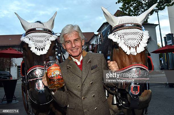 Frederic Meisner during the Hippodrom grand opening ahead of the Oktoberfest 2015 at Postpalast on September 18 2015 in Munich Germany