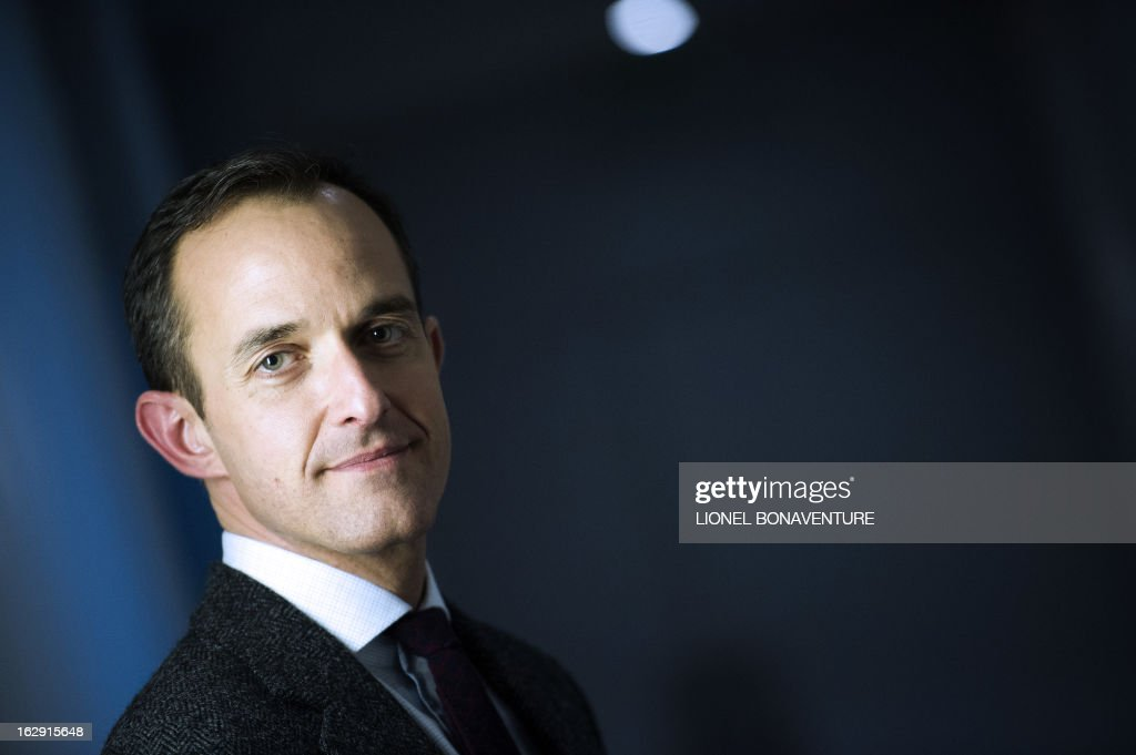Frederic Mion, newly appointed director of the Paris Institute of Political Studies, also know as Paris' Sciences Po university, poses on March 1, 2013 in Paris. AFP PHOTO / LIONEL BONAVENTURE / AFP PHOTO / Lionel BONAVENTURE