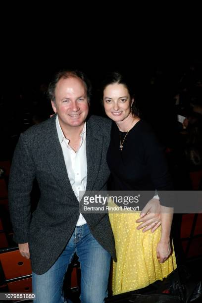 Frederic Motte and Angelique Motte attend 'Cendrillon' choregraphing by Rudolf Noureev during 'Reve d'Enfant' Charity Gala at Opera Bastille on...