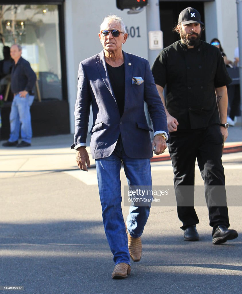 Frederic Prinz von Anhalt is seen on January 13, 2018 in Los Angeles, CA.