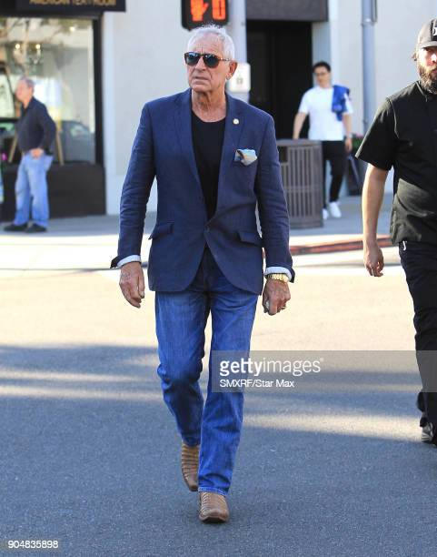 Frederic Prinz von Anhalt is seen on January 13 2018 in Los Angeles CA