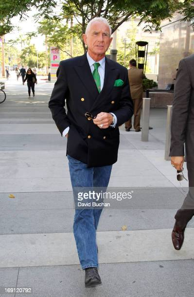 Frederic Prinz von Anhalt Zsa Zsa Gabor's husband leaves a conservatorship hearing at Los Angeles Superior Court May 20 2013 in Los Angeles...