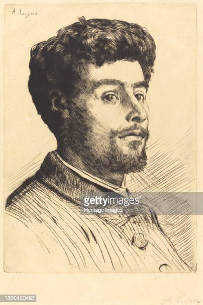 Frederic Regamey. Artist Alphonse Legros.