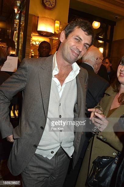 Frederic Taddei attends the 'Prix De Flore 2012' Literary Award Ceremony Party at the Cafe de Flore on November 8 2012 in Paris France
