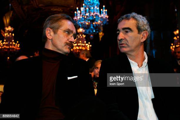 Frederic THIRIEZ et Raymond DOMENECH Tirage au sort de la Champions League Mairie de Paris