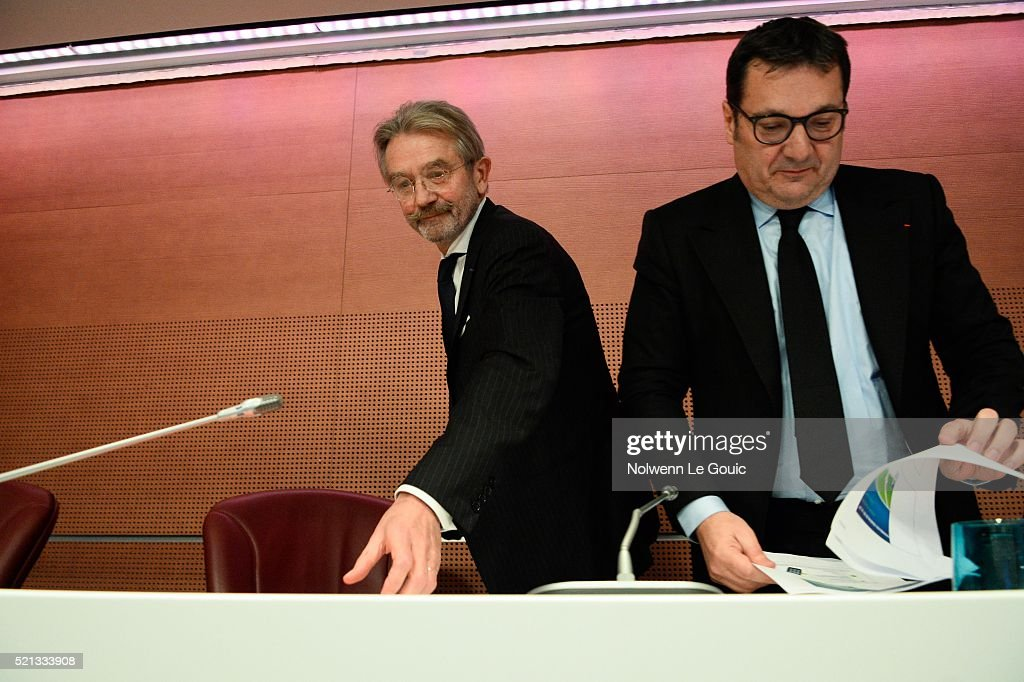 General Meeting of the Football French League : News Photo