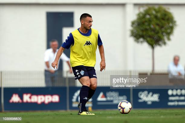 Frederic Veseli of Empoli FC in action during training session on September 18 2018 in Empoli Italy
