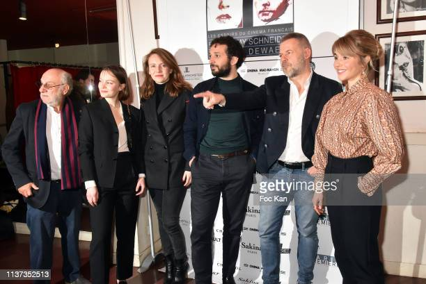 Frederic Vidal Diane Rouxel Sophie Brafman William Lebghil Eric Naulleau and Alice Isaaz attend the 37th 'Romy Schneider And Patrick Dewaere Awards'...