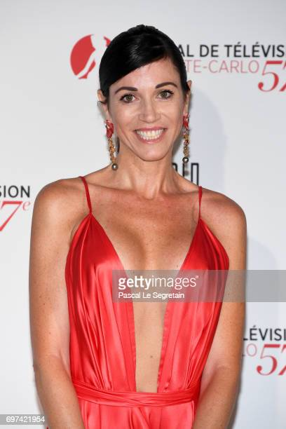Frederica Torti attends the 'The Bold and The Beautiful' 30th Years anniversary during the 57th Monte Carlo TV Festival Day 3 on June 18 2017 in...