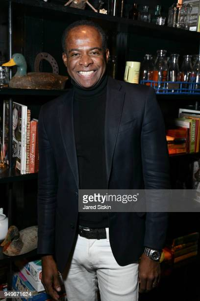Frederick Anderson attends Rachel Lee Hovnanian The Women's Trilogy Project Part 2 Happy Hour After Party at Porchlight on April 19 2018 in New York...