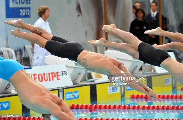 Frederick BOUSQUET 50m Open EDF de Natation Croix Catelan Photo Dave Winter / Icon Sport