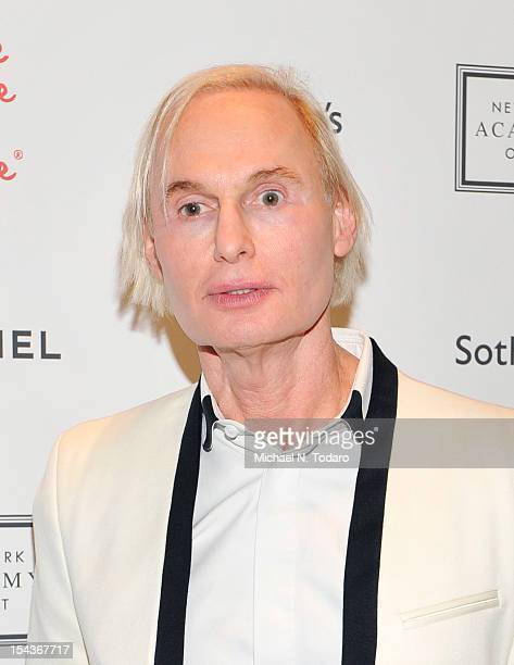Frederick Brandt attends the 2012 Take Home a Nude Benefit Art Auction at Sotheby's on October 18 2012 in New York City