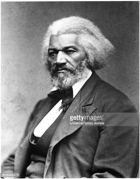 Frederick Douglass , African-American Abolitionist, Portrait, circa 1874.