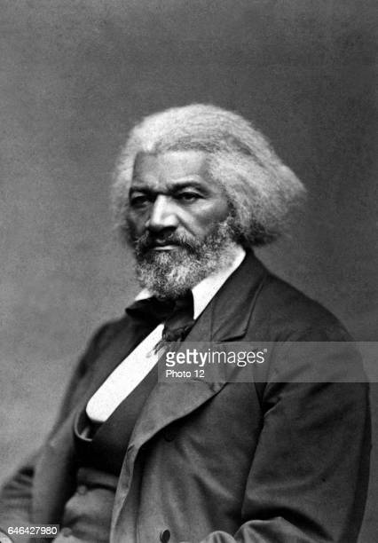 Frederick Douglass c1879 African American abolitionist reformer champion of women's suffrage and believer in the equality of all citizens of the...