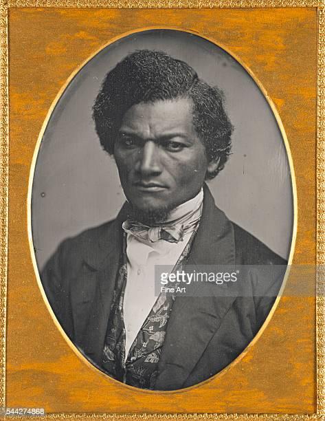 Frederick Douglass, quarter-plate daguerreotype, 14 x 10.6 cm