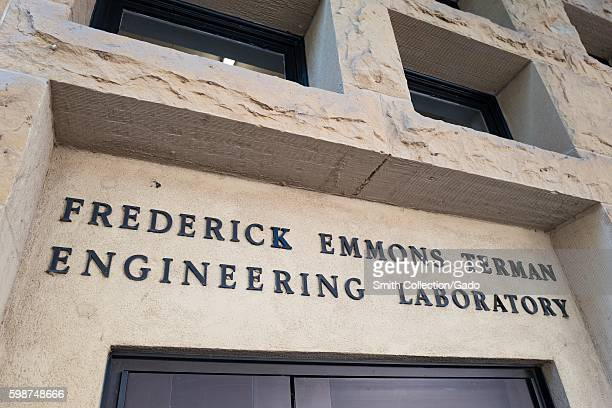 Frederick Emmons Terman engineering laboratory on the campus of Stanford University in the Silicon Valley town of Palo Alto California August 25 2016...
