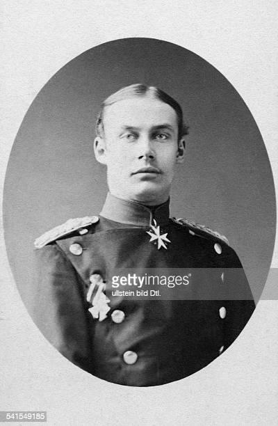 Frederick Francis III Grand Duke of MecklenburgSchwerin*1903185110041897portrait in uniform Photographer Edmund Behncke undatedVintage property of...