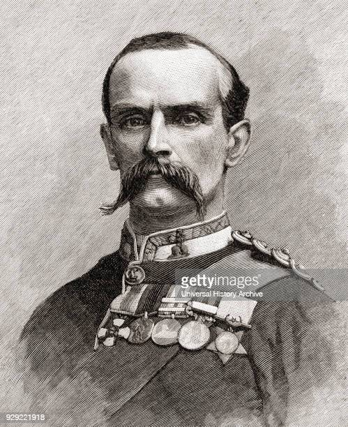 Frederick John Dealtry Lugard, 1st Baron Lugard, 1858 – 1945, aka Sir Frederick Lugard. British soldier, mercenary, explorer of Africa and colonial...