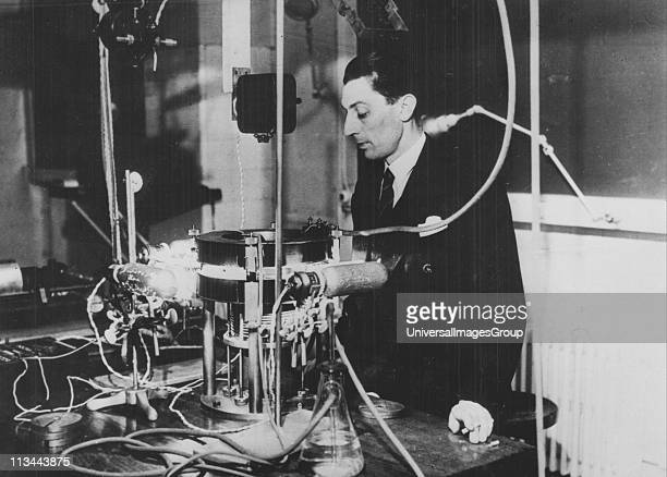 Frederick JoliotCurie French physicist in about 1930 The apparatus is a Wilson cloud chamber Joliot became assistant to Marie Curie in 1925 In 1926...
