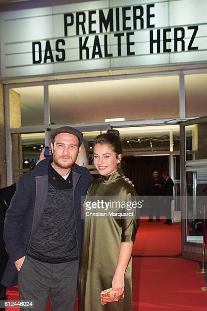 Frederick Lau and Henriette Confurius attend the 'Das Kalte Herz' premiere at Kino International on October 4 2016 in Berlin Germany
