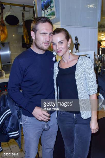 Frederick Lau and his wife Annika Lau attend the Loste TradiFrance Opening at KaDeWe on September 13 2018 in Berlin Germany