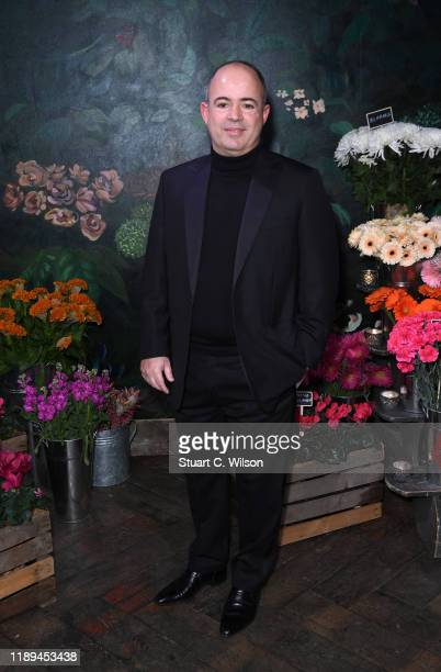 Frederick Lukoff attends the gala dinner in honour of Edward Enninful winner of the Global VOICES Award 2019 during #BoFVOICES on November 22 2019 in...