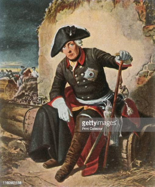 Frederick the Great after the Battle of Kolín 18 June 1757 'Friedrich Der Grosse Nach Der Schlacht Bei Kolin 18 Juni 1757' King Frederick the Great...