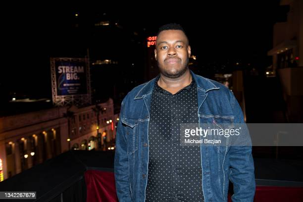 Frederick Thornton arrives at 17th Annual Oscar-Qualifying HollyShorts Film Festival Opening Night at Japan House Los Angeles on September 23, 2021...