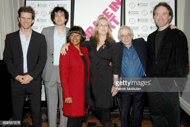 Frederick Weller Geoffrey Arend Jenifer Lewis Meryl Streep Austin Pendleton and Kevin Kline attend COURAGE IN CONCERT PostShow Arrivals at The Public...