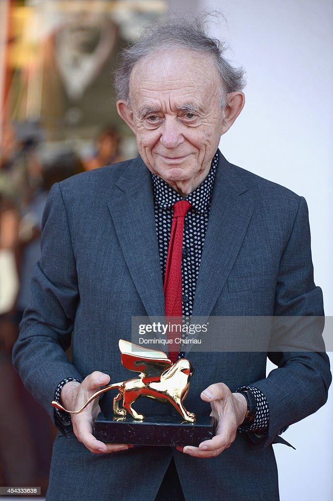 Frederick Wiseman Receives Golden Lion Lifetime Achievement - 71st Venice Film Festival : News Photo