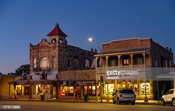 Fredericksburg, Texas, Downtown