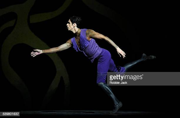 Frederico Cervera in the Royal Ballet's production of Liam Scarlett Will Tucket and Jonathan Watkins Diana Actaeon at the Royal Opera House Covent...