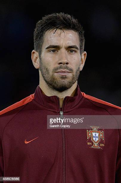 Frederico Venancio of Portugal during the U21 International Friendly match between England and Portugal at Turf Moor on November 13 2014 in Burnley...