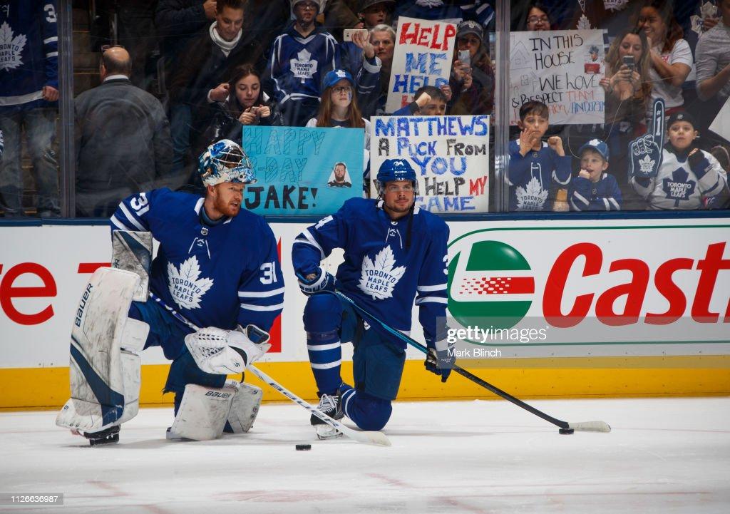 CAN: Washington Capitals v Toronto Maple Leafs