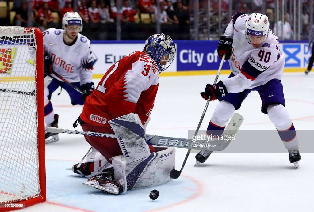 Denmark v Norway - 2018 IIHF Ice Hockey World Championship