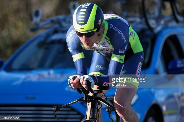 Frederik Backaert of Wanty Groupe Gobert during the 3rd stage of the cycling Tour of Algarve between Lagoa and Lagoa on February 16 2018