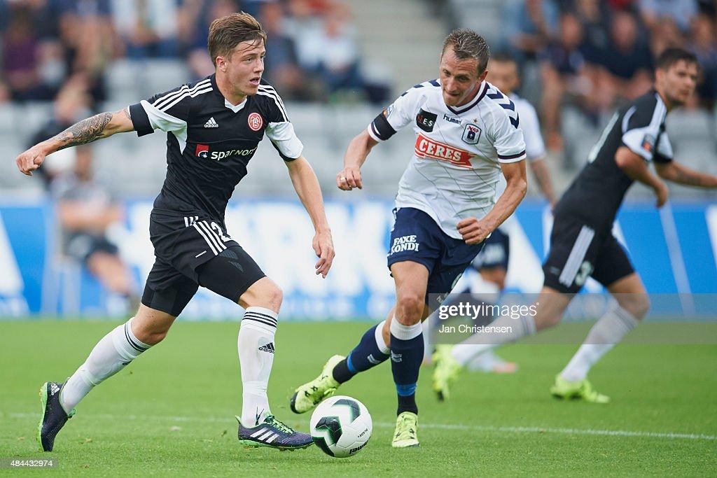 AGF Arhus v AaB Aalborg - Danish Alka Superliga : News Photo