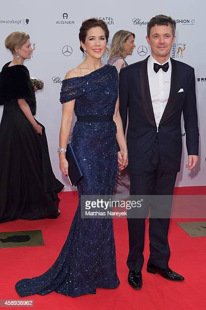 Frederik Crown Prince of Denmark and Mary Crown Princess of Denmark attend the Bambi Awards 2014 on November 13 2014 in Berlin Germany