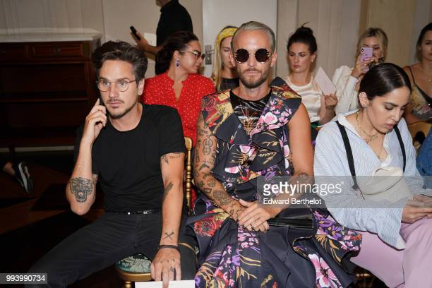 Frederik Roberttson attends the Ulyana Sergeenko Haute Couture Fall Winter 2018/2019 show as part of Paris Fashion Week on July 3 2018 in Paris France