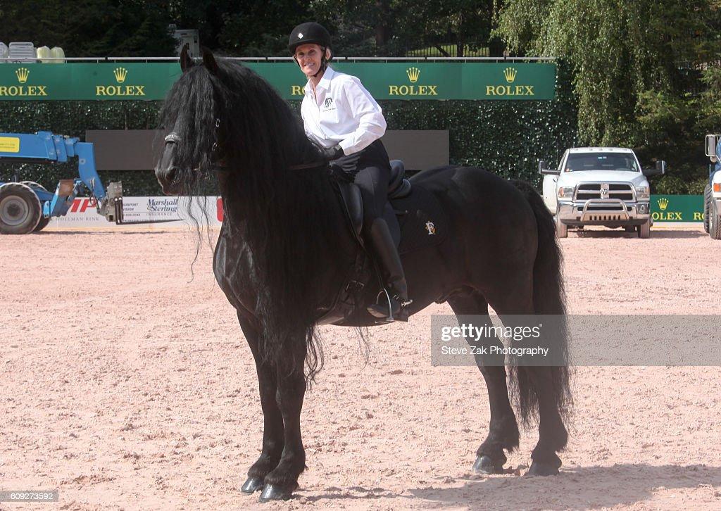 Third Annual Rolex Central Park Horse Show Kick Off : News Photo