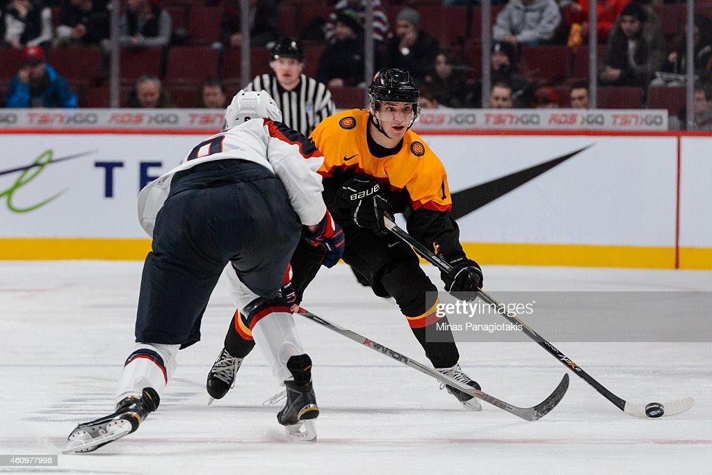 Germany v United States - 2015 IIHF World Junior Championship