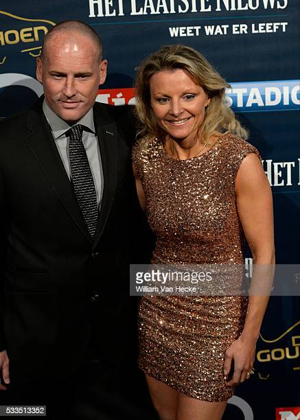 Frederik Vanderbiest Head Coach of Oostende pictured during the 61th edition of the Golden Shoe Award ceremony at the AED studios in Lint Belgium The...