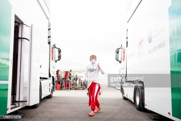 Frederik Vesti of Denmark and Prema Racing before race one of the Formula 3 Championship at Silverstone on August 01, 2020 in Northampton, England.