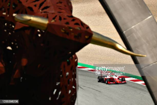 Frederik Vesti of Denmark and Prema Racing drives during qualifying for the Formula 3 Championship at Red Bull Ring on July 10 2020 in Spielberg...
