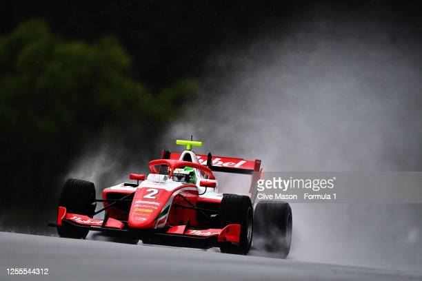 Frederik Vesti of Denmark and Prema Racing drives during the feature race for the Formula 3 Championship at Red Bull Ring on July 11, 2020 in...