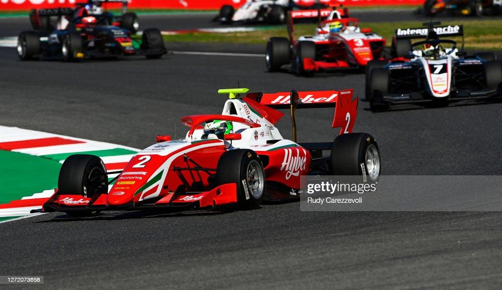 Formula 3 Championship - Round 9:Mugello - First Race : News Photo