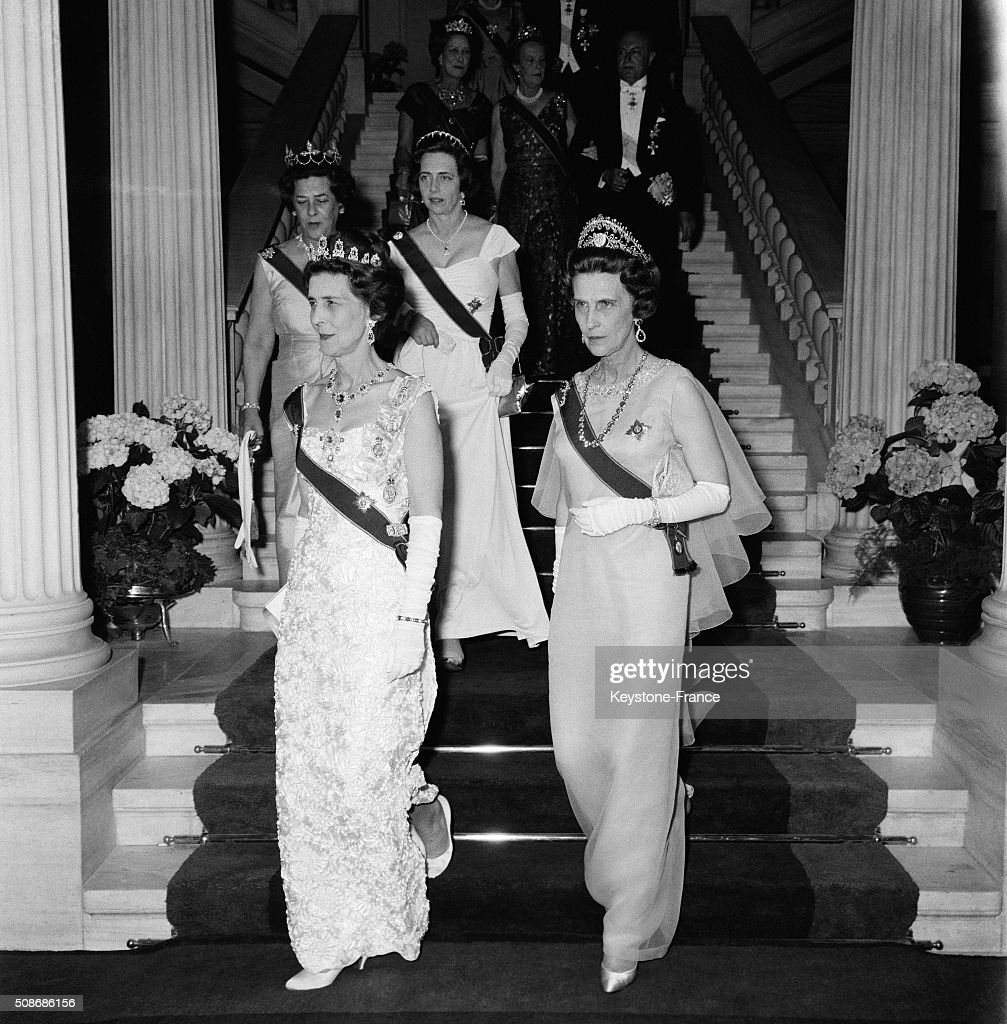 Wedding Of Princess Sophie Of Greece With Don Juan Carlos Of Spain : News Photo
