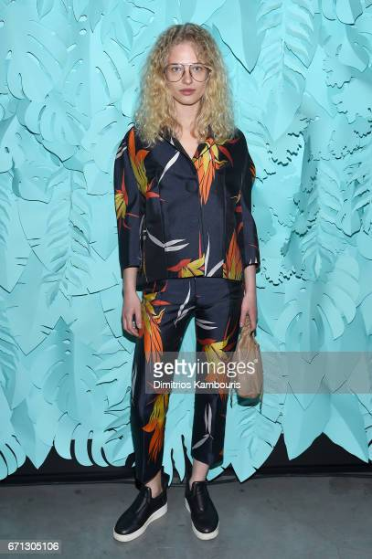 Frederikke Sofie attends the Tiffany Co 2017 Blue Book Collection Gala at ST Ann's Warehouse on April 21 2017 in New York City