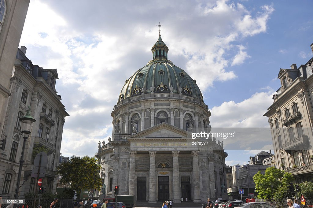 Frederik's Church, Copenhagen : Stock Photo