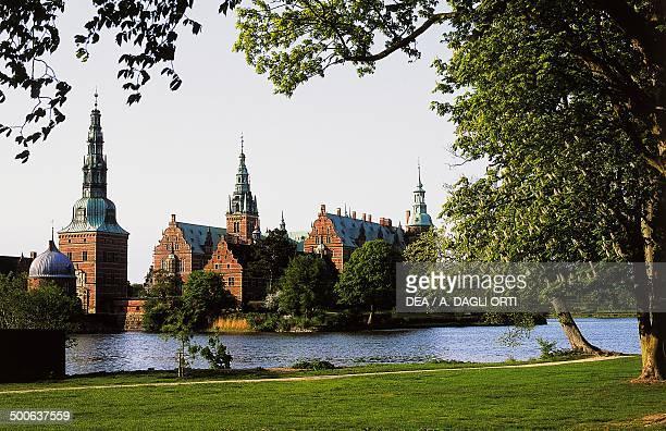 Frederiksborg castle, Hillerod, Denmark, 16th-17th century.